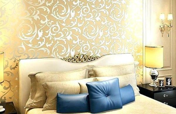 Foil Wallpaper or Metallic Wallpaper